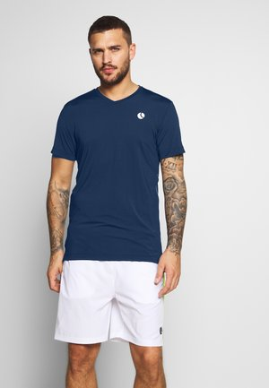 TOREN TEE - T-shirt med print - peacoat