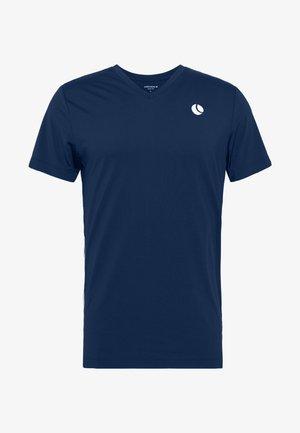 TOREN TEE - T-Shirt print - peacoat