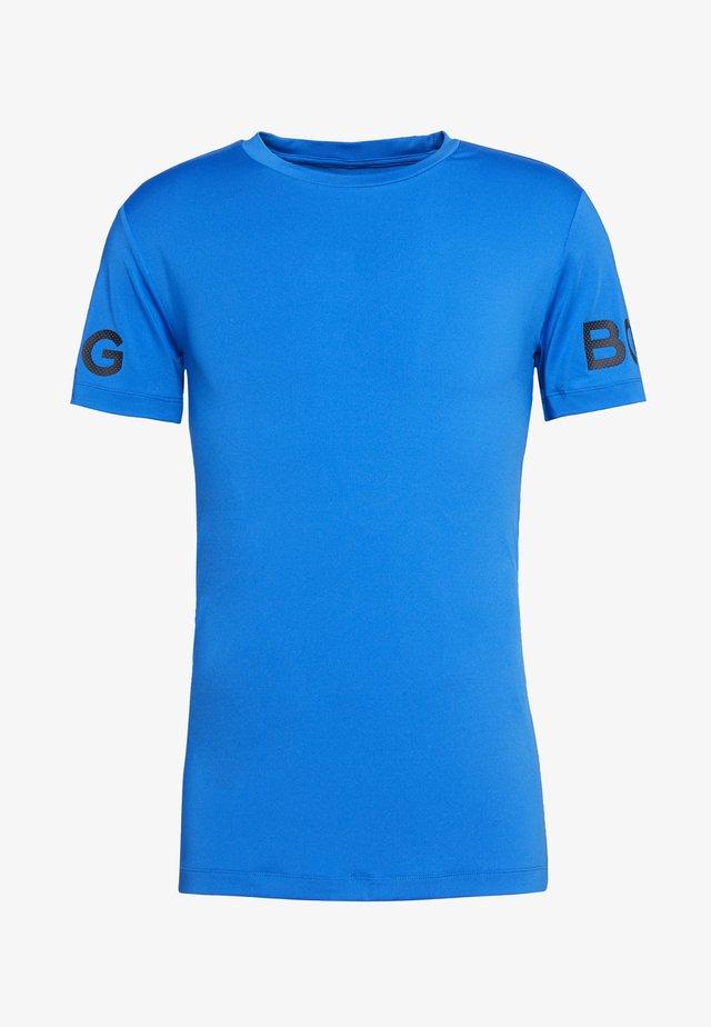 TEE - T-Shirt print - electric blue lemonade