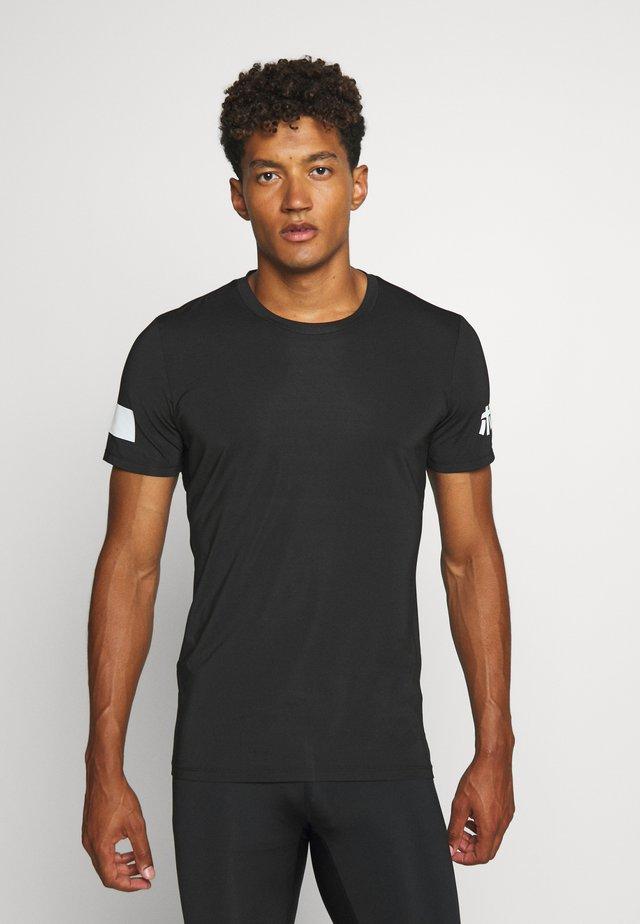 TEE - T-shirt z nadrukiem - black beauty