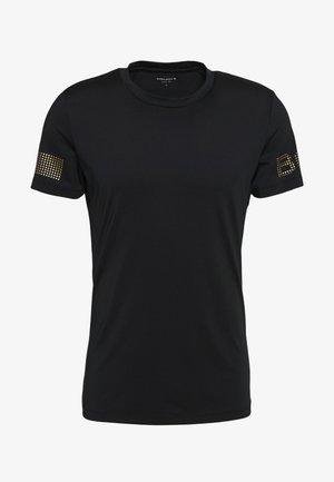 MEDAL TEE - Funktionströja - black/gold