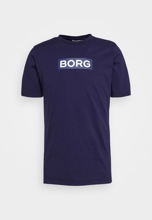 SPORT TEE - Print T-shirt - peacoat