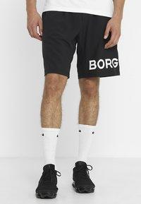 Björn Borg - AUGUST SHORTS - Träningsshorts - black beauty - 0