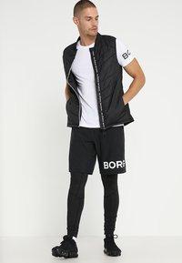 Björn Borg - AUGUST SHORTS - Träningsshorts - black beauty - 1