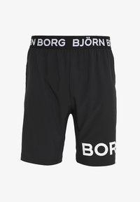 Björn Borg - AUGUST SHORTS - Träningsshorts - black beauty - 4