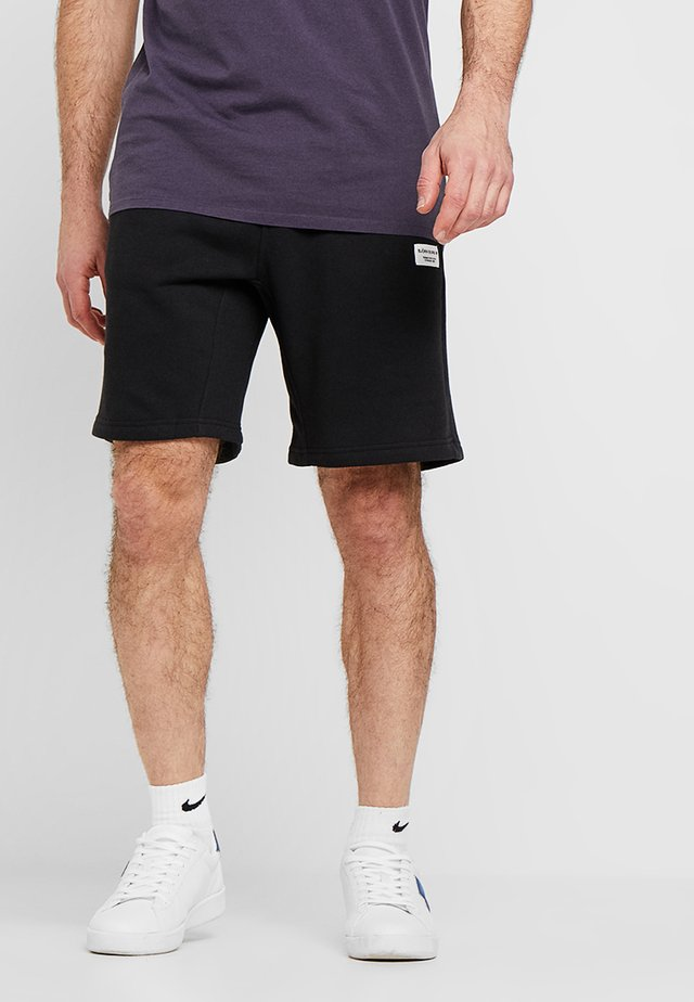 CENTRE SHORTS - Träningsshorts - black beauty