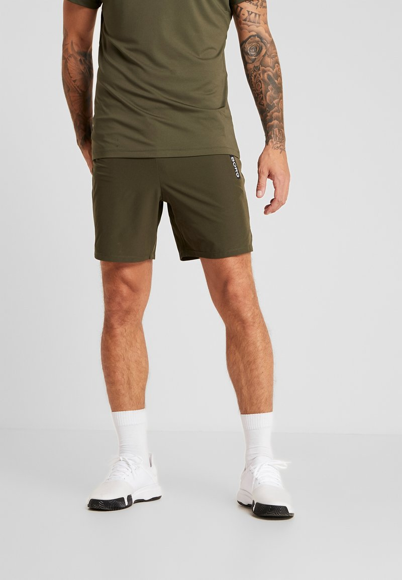 Björn Borg - SHORTS ADILS - Sports shorts - forest night