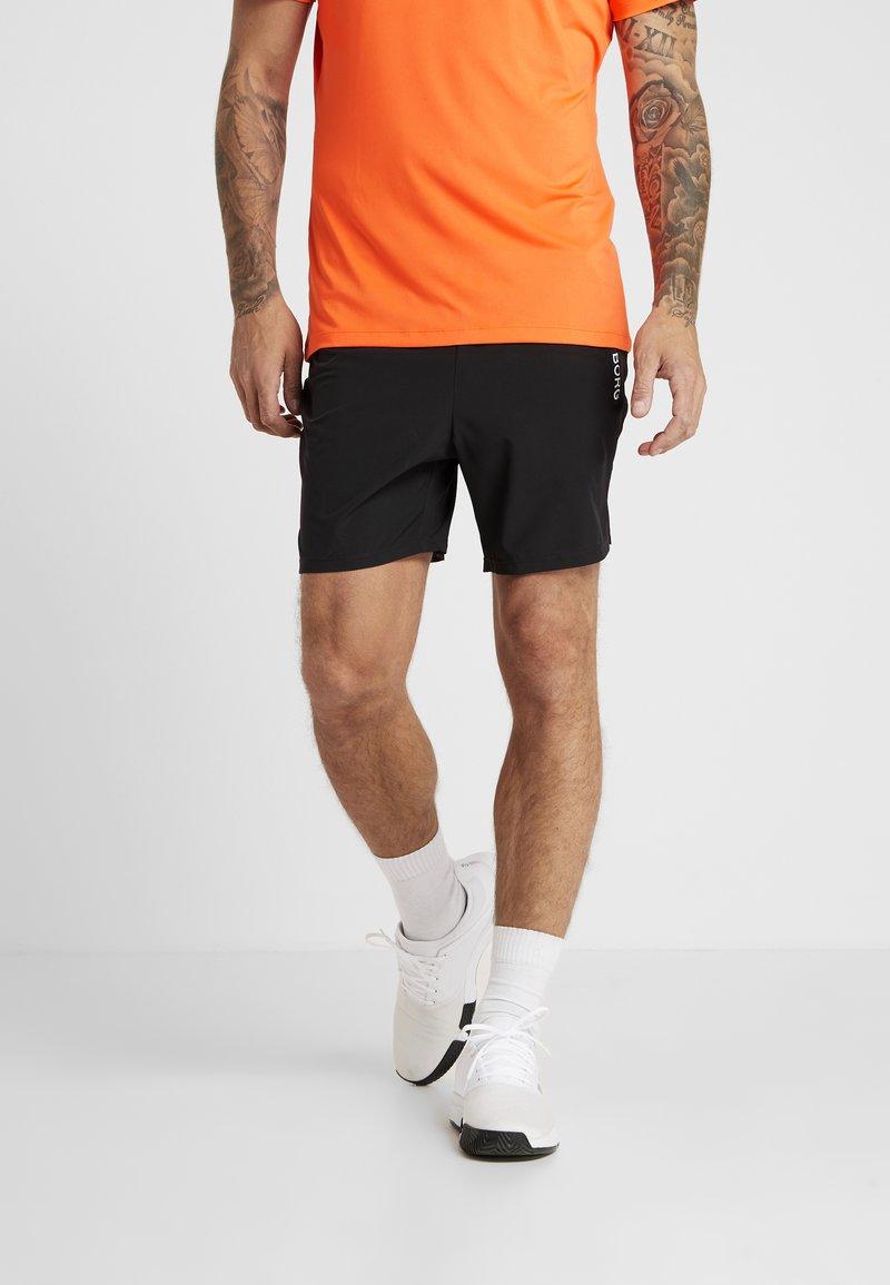 Björn Borg - SHORTS ADILS - Sports shorts - black beauty