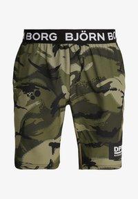 Björn Borg - SHORTS AUGUST - Short de sport - olive - 3
