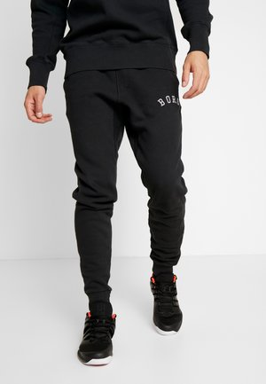 PANTS SPORT - Spodnie treningowe - black beauty