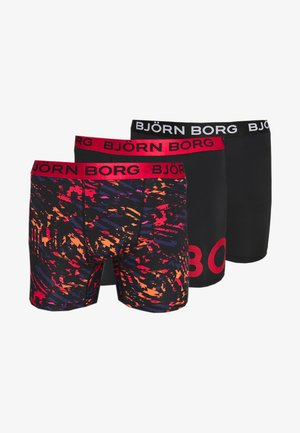 SHORTS 3 PACK - Short de sport - black beauty