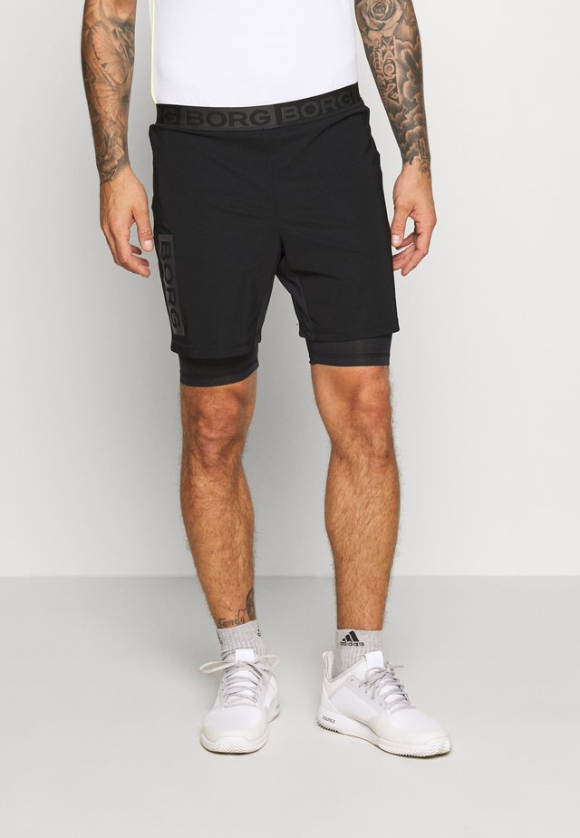 AMARI SHORTS - Träningsshorts - black beauty