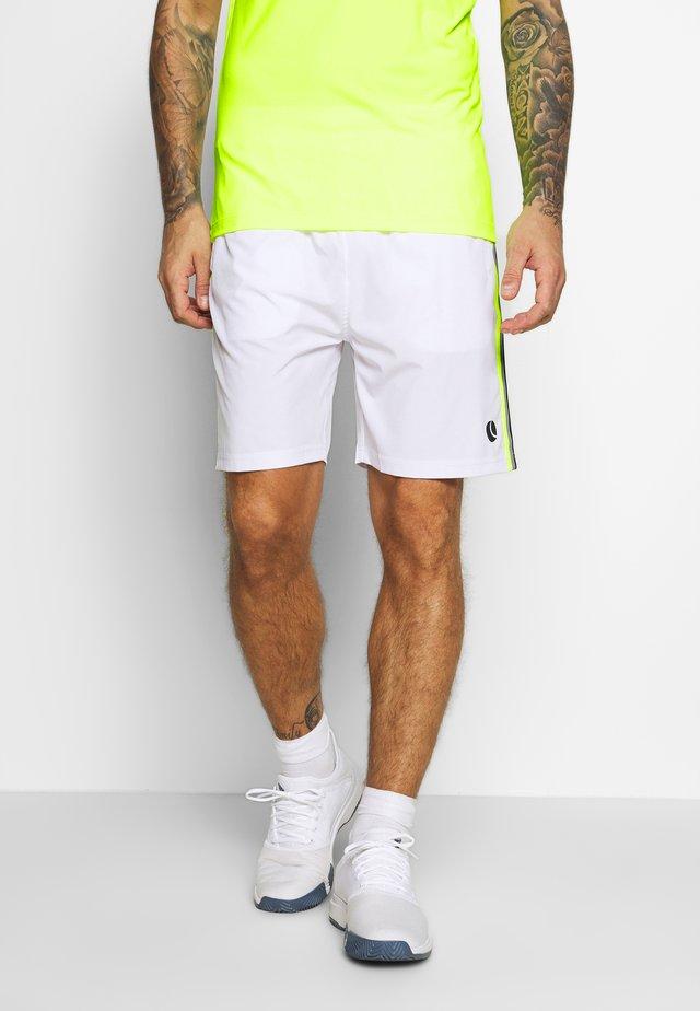 TABER SHORTS - Träningsshorts - brilliant white