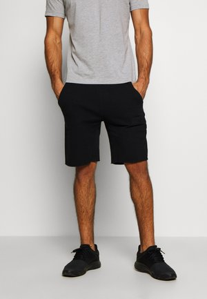 SPORT SHORTS - kurze Sporthose - black beauty
