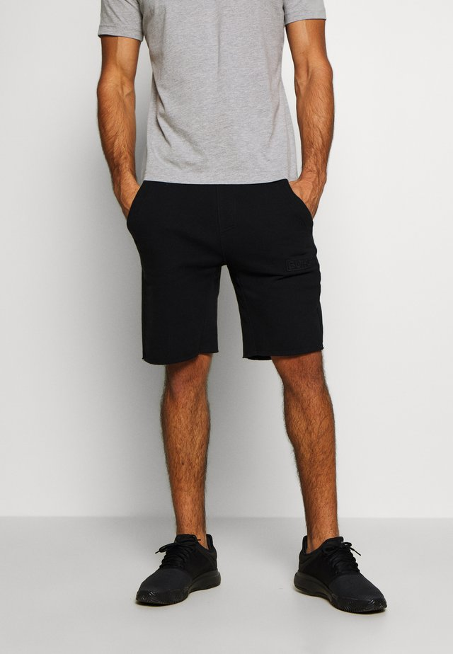 SPORT SHORTS - Träningsshorts - black beauty