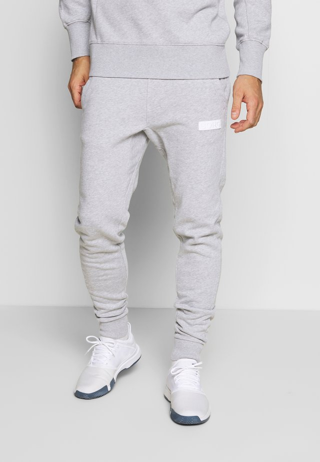 SPORT PANTS - Verryttelyhousut - light grey melange