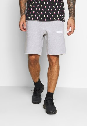SPORT - kurze Sporthose - light grey melange