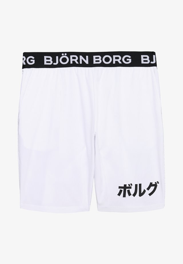 AUGUST SHORTS - Urheilushortsit - brilliant white