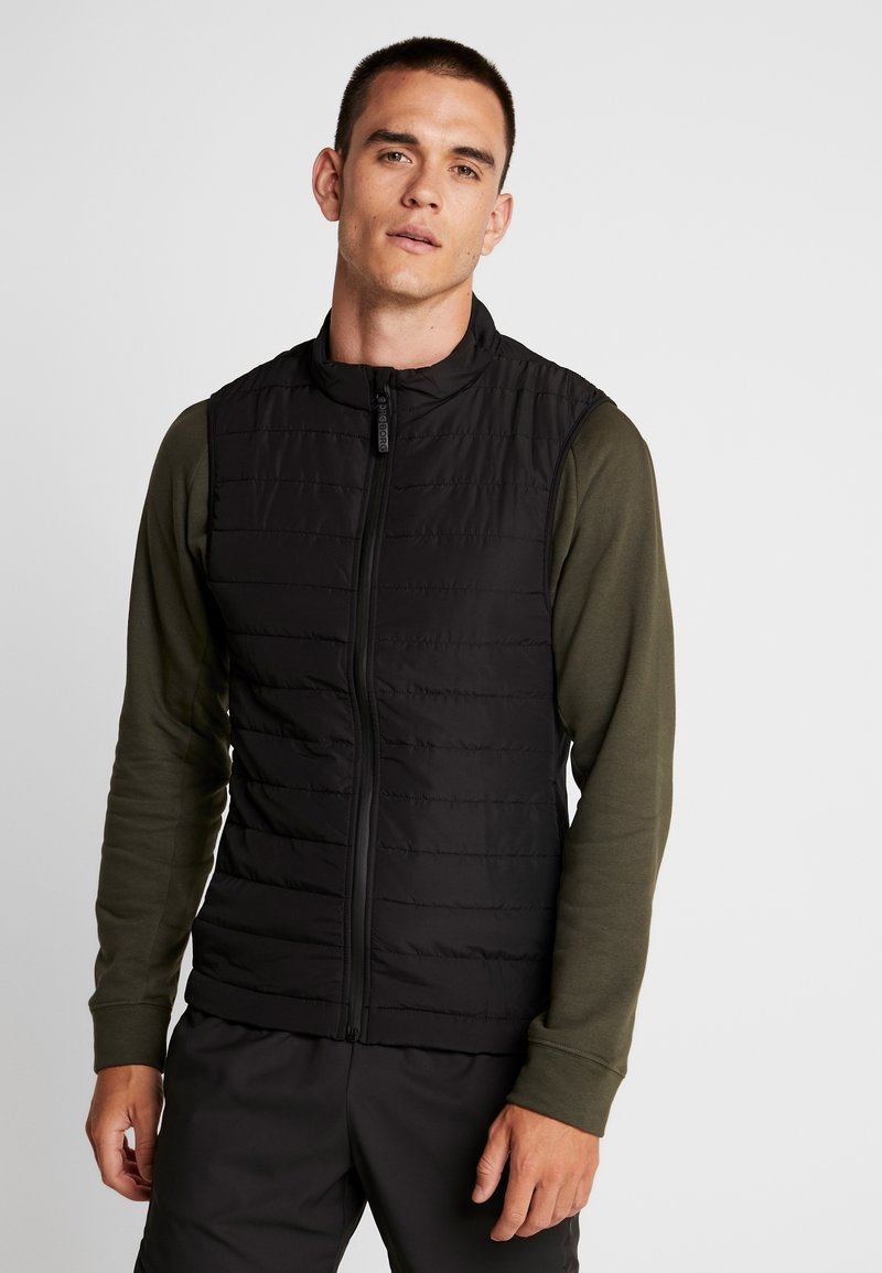 Björn Borg - QUILTED ALEXI - Vest - black beauty