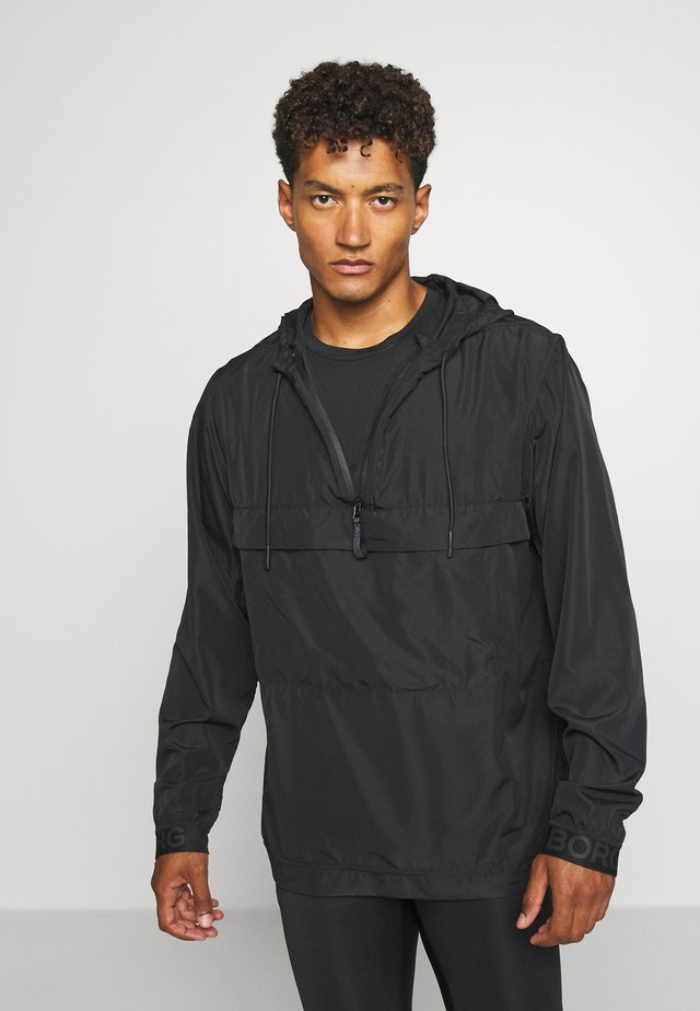 ANORAK - Trainingsjacke - black beauty