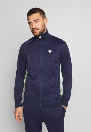 THOR TRACK - Zip-up hoodie - peacoat