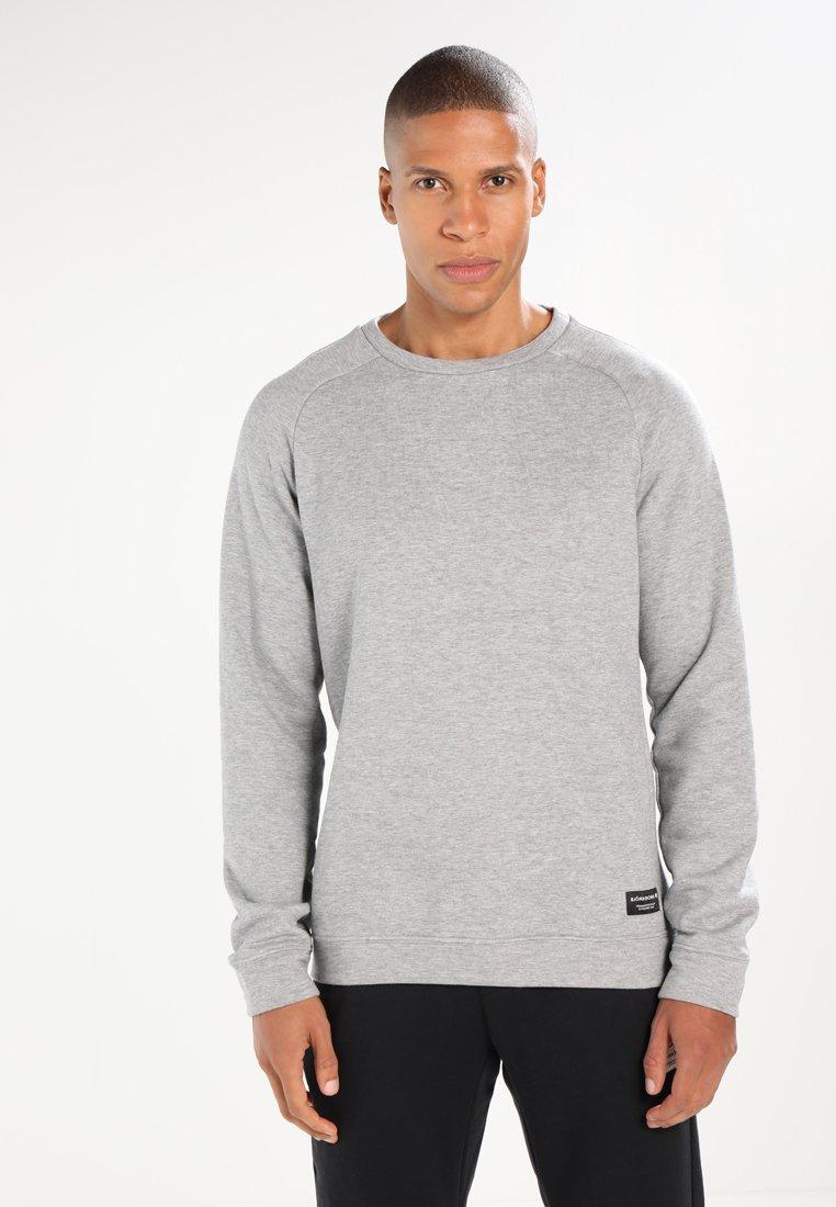 Björn Borg - BBCORE CREW - Sweatshirt - light grey melange