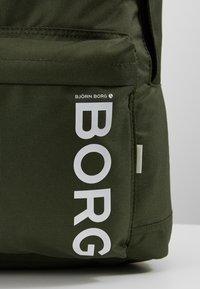 Björn Borg - NEW BACKPACK - Ryggsekk - green - 6