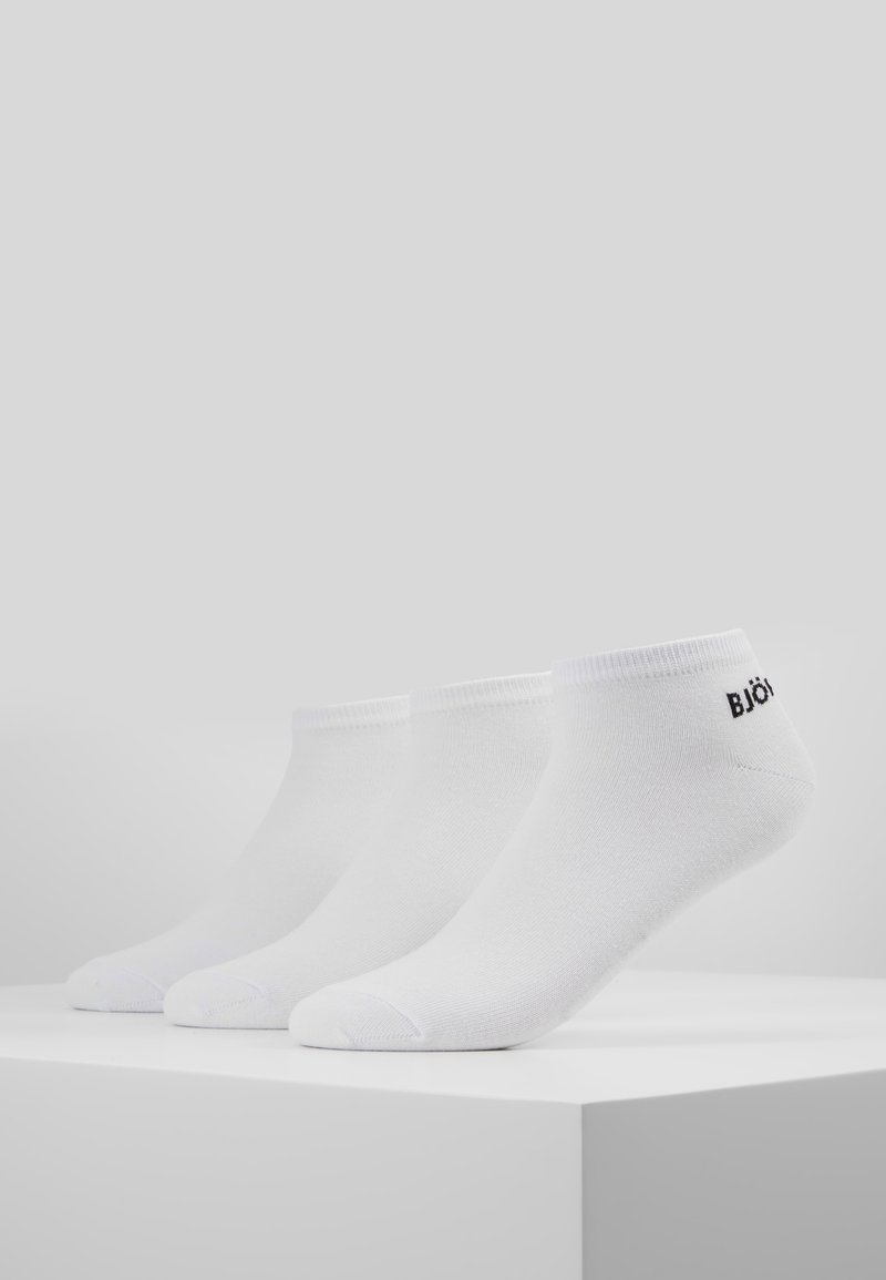 Björn Borg - ESSENTIAL STEP SOCK 3PACK - Strumpor - white