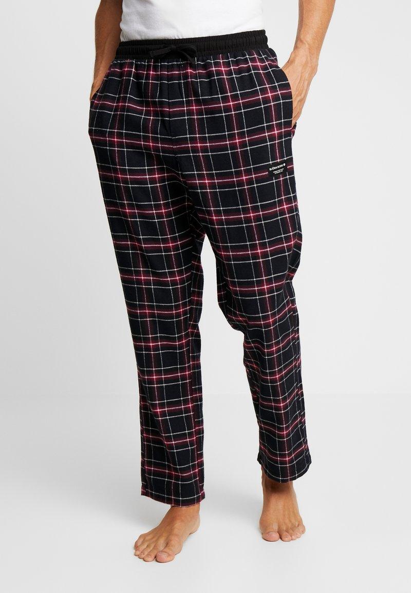 Björn Borg - PERCY PANTS - Pantalón de pijama - black beauty