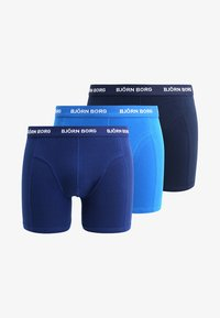 Björn Borg - SHORTS SOLIDS 3 PACK - Shorty - skydiver - 6