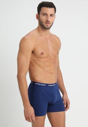 SHORTS SOLIDS 3 PACK - Onderbroeken - blue depths