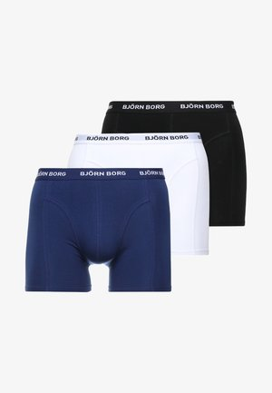 SHORTS SOLIDS 3 PACK - Pants - blue depths