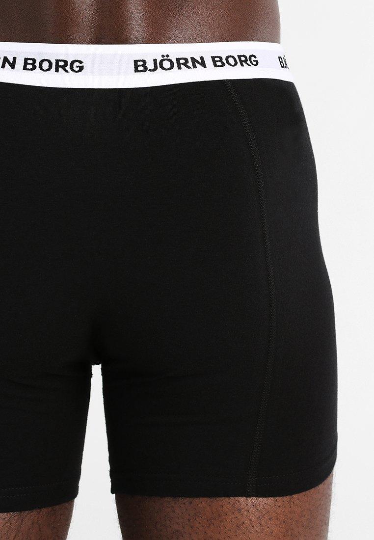 Borg Björn Black Solids Shorts Contrast 3 PackShorty kw8n0OP