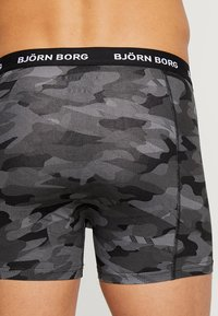 Björn Borg - SHADELINE SAMMY SHORTS 3 PACK - Onderbroeken - black beauty