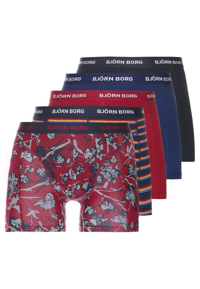 FLEURS JARDIN SHADELINE 5PACK - Underkläder - beet red