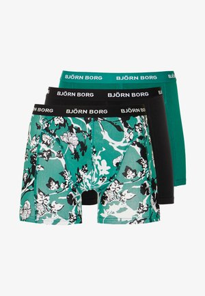 FLEURS DE JARDIN 3PACK - Onderbroeken - evergreen