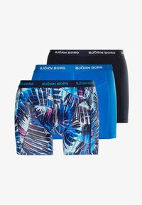 Björn Borg - SUMMER PALM 3 PACK - Culotte - peacoat - 3