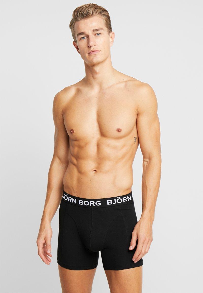 Björn Borg - SOLIDS SAMMY 2 PACK - Underkläder - black