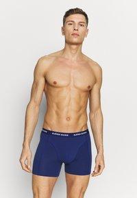 Björn Borg - FIJI FLOWER SAMMY SHORTS 3 PACK - Underkläder - fuchsia purple - 3