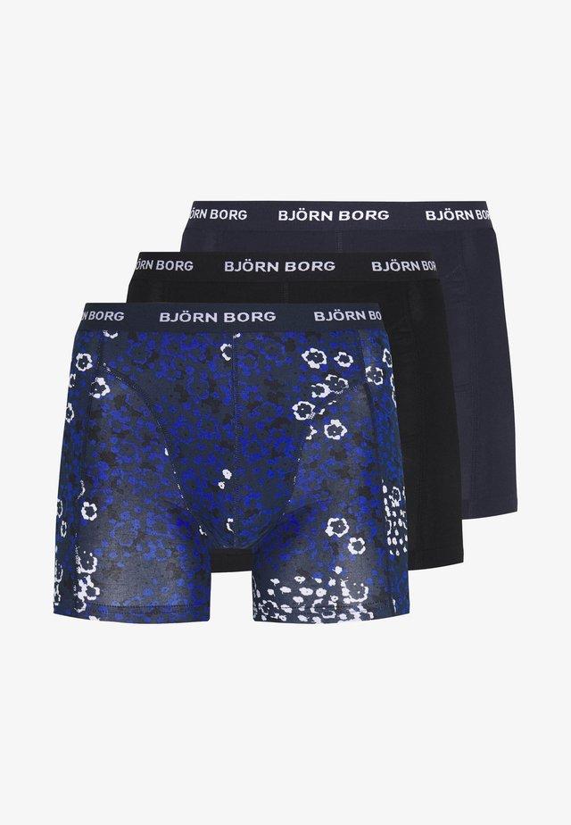 DITSY FLOWER SAMMY 3 PACK - Underkläder - total eclipse