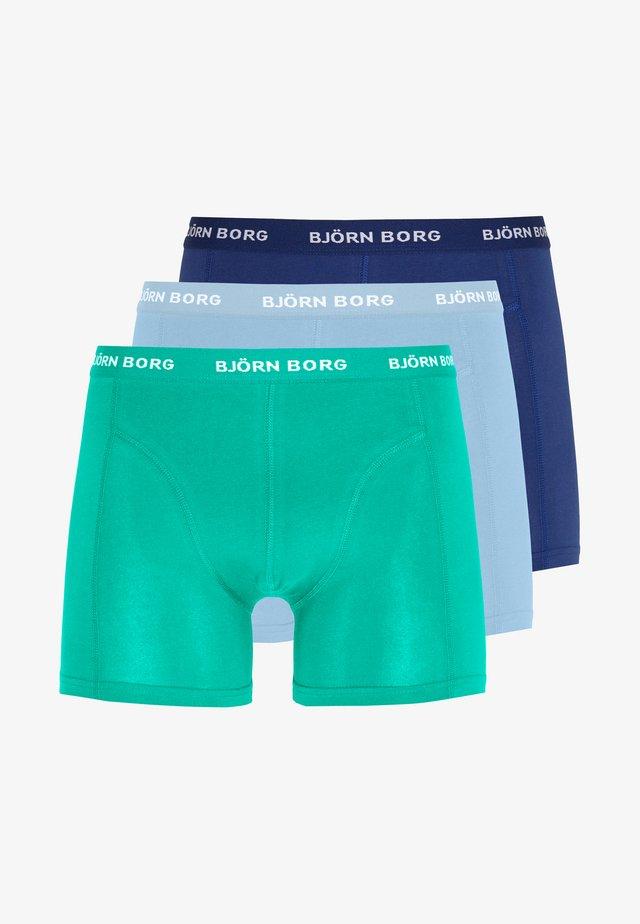 SEASONAL SOLID SAMMY 3 PACK - Onderbroeken - placid blue