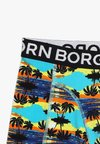 Björn Borg - SUNSET MINI SAMMY SHORTS  2 PACK - Panties - blue atoll