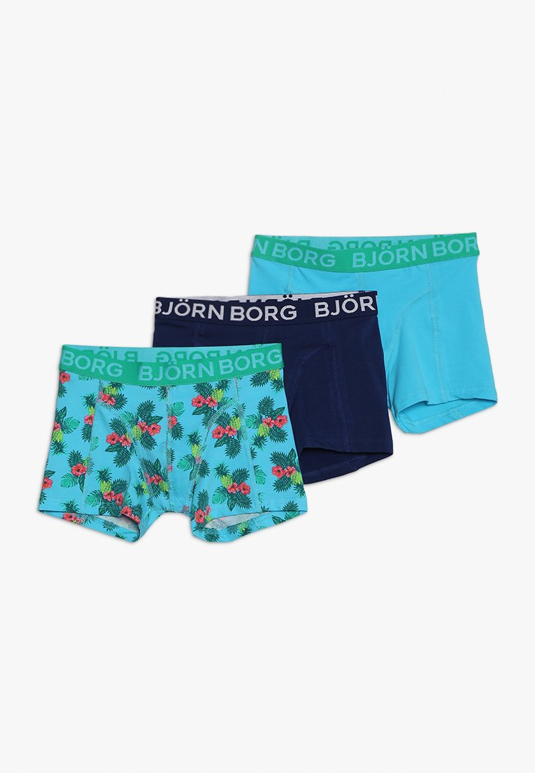 Björn Borg - PARADISE MINI SAMMY SHORTS 3 PACK - Bokserit - blue atoll
