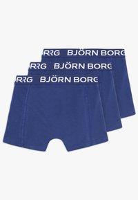 Björn Borg - SOLIDS SAMMY SHORTS 3PACK - Onderbroeken - blue depths - 1