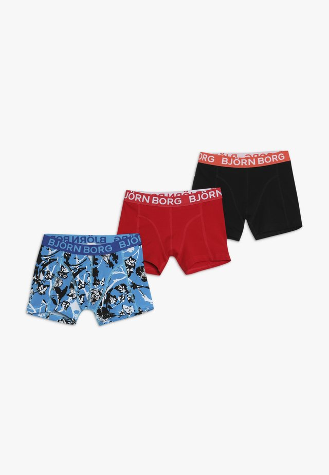 SHORTS 3 PACK - Pants - blue danube
