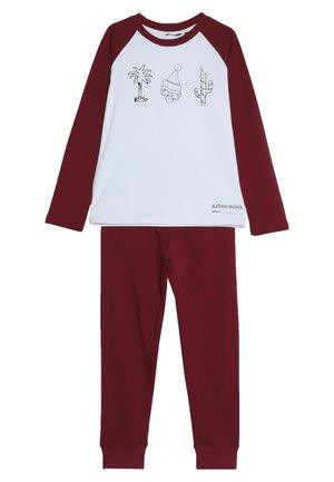FUN SANTA OUTLINE XMAS BOX PYJAMA  - Pyžamová sada - brilliant white