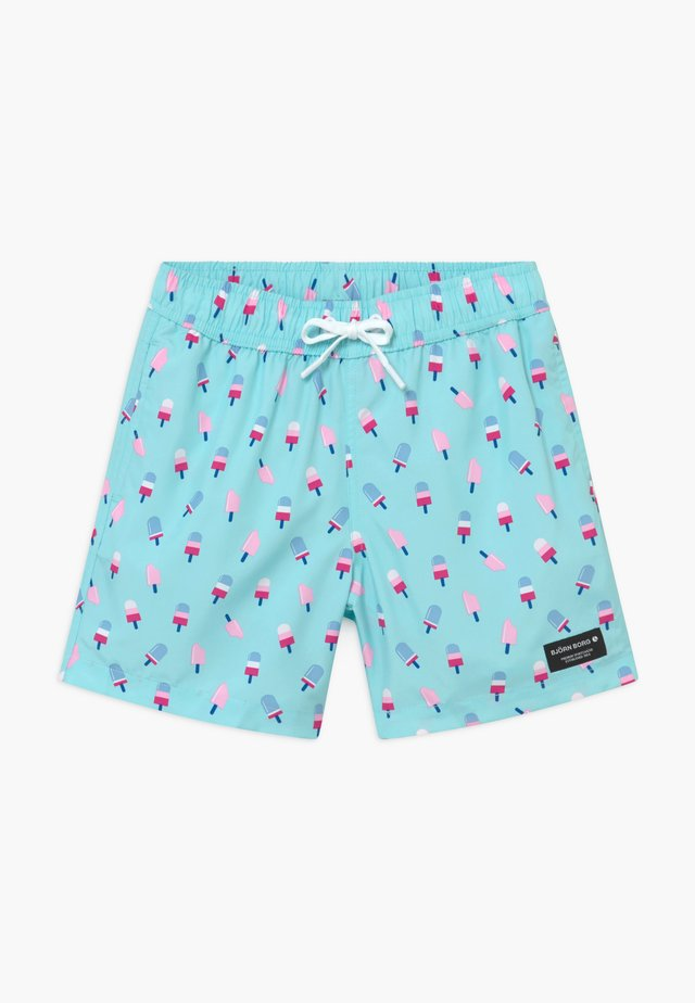 KENNY LOOSE - Swimming shorts - light blue