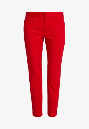 SLOAN SOLIDS - Trousers - ultra red