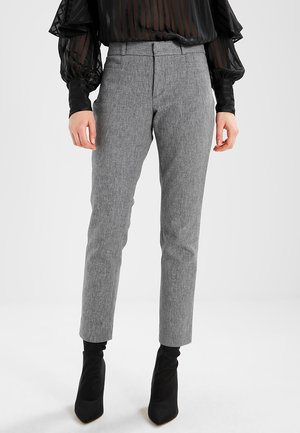 SLOAN TEXTURE PANT - Trousers - heathered charcoal