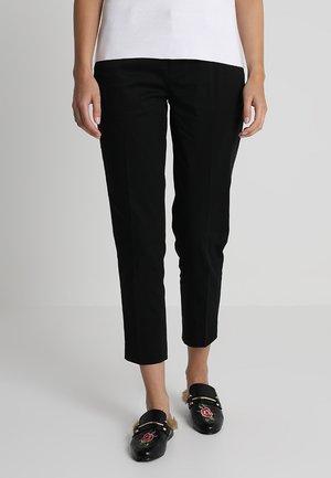 AVERY SATEEN - Pantaloni - black